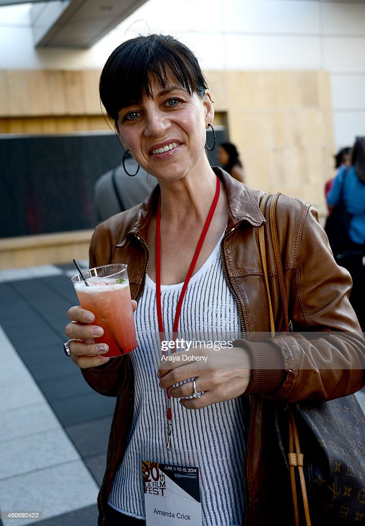 Amanda Crick attends the Filmmaker Reception during the 2014 Los Angeles Film Festival at Club Nokia on June 13, 2014 in Los Angeles, California.