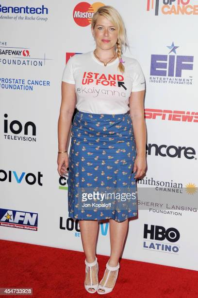 Amanda de Cadenet arrives at Hollywood Unites For The 4th Biennial Stand Up To Cancer A Program Of The Entertainment Industry Foundation at Dolby...