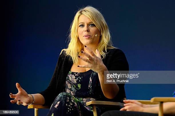Amanda De Cadenet attends a special in conversation event at Apple Store Regent Street on October 31 2013 in London England