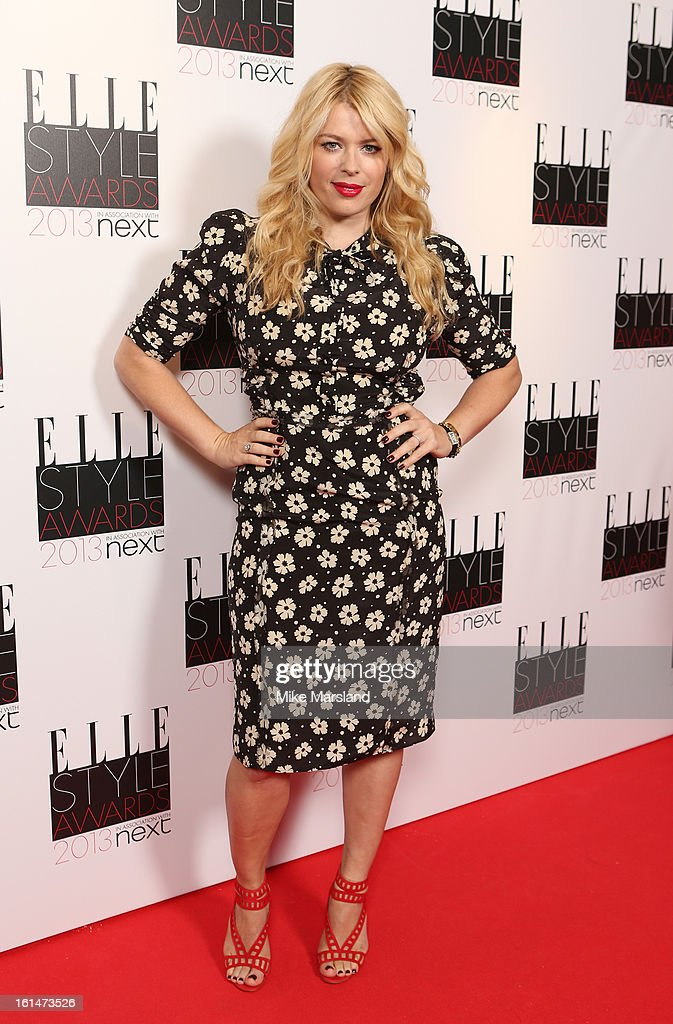 Amanda de Cadenet attends the Elle Style Awards 2013 at The Savoy Hotel on February 11 2013 in London England