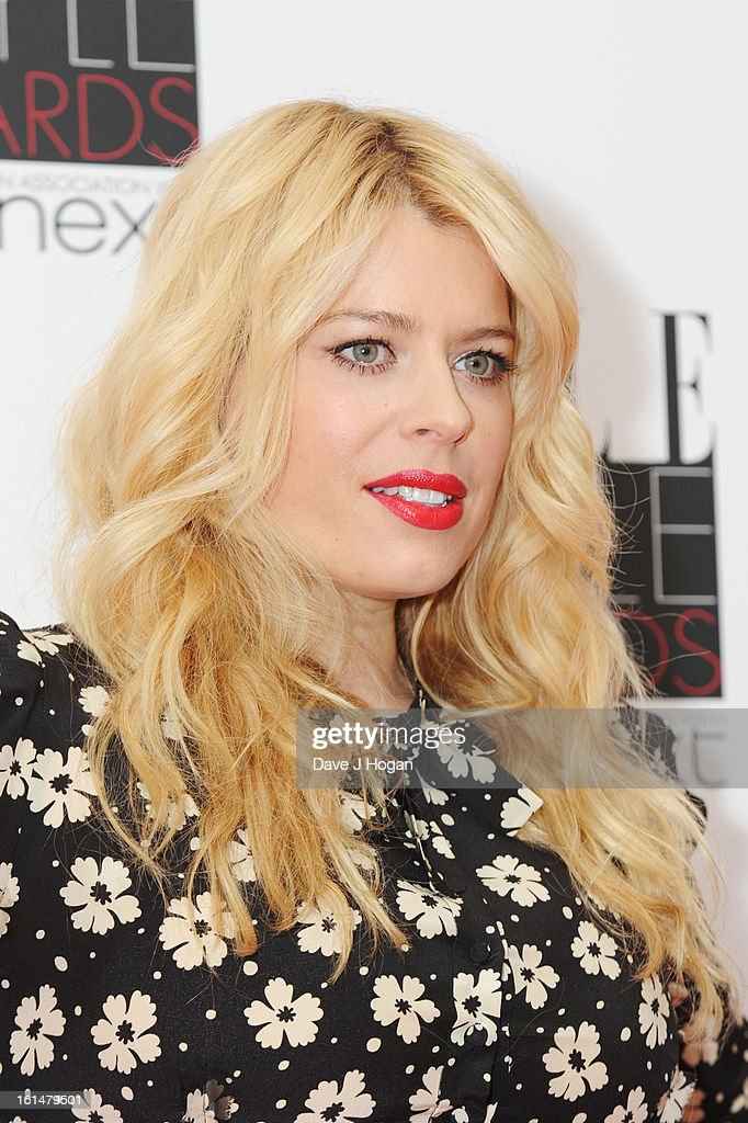 Amanda De Cadenet attends The Elle Style Awards 2013 at The Savoy Hotel on February 11, 2013 in London, England.