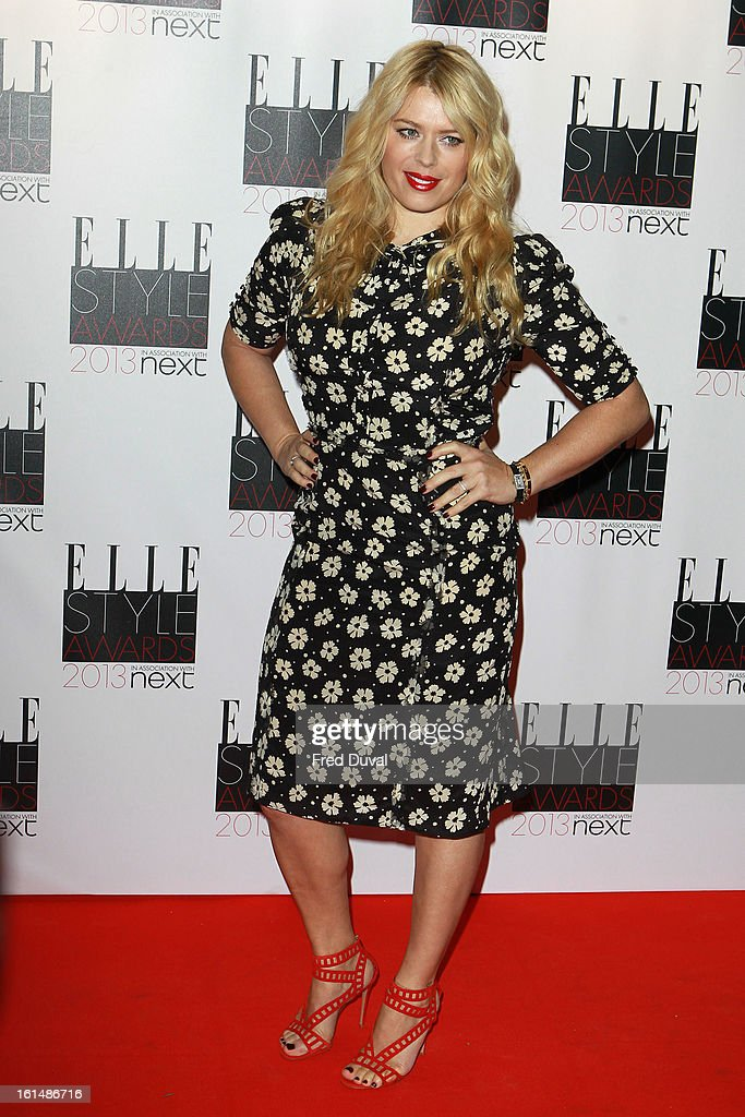 Amanda de Cadenet attends the Elle Style Awards on February 11, 2013 in London, England.