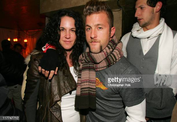 Amanda Demme and Scott Caan during 2006 Sundance Film Festival ICM Agency Party at Premiere Film Music Lounge at Cain Inside Day 1 at Premiere Lounge...
