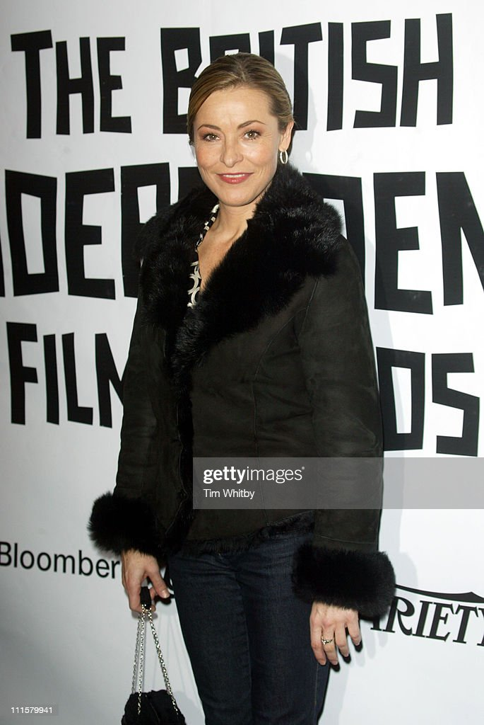 <a gi-track='captionPersonalityLinkClicked' href=/galleries/search?phrase=Amanda+Donohoe&family=editorial&specificpeople=209046 ng-click='$event.stopPropagation()'>Amanda Donohoe</a> during The 2005 British Independent Film Awards - Arrivals at Hammersmith Palais in London, Great Britain.