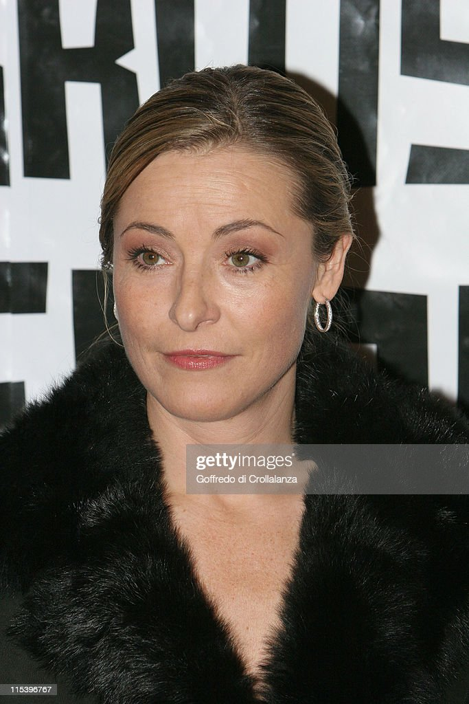 <a gi-track='captionPersonalityLinkClicked' href=/galleries/search?phrase=Amanda+Donohoe&family=editorial&specificpeople=209046 ng-click='$event.stopPropagation()'>Amanda Donohoe</a> during The 2005 British Independent Film Awards - Inside Arrivals at Hammersmith Palais in London, Great Britain.