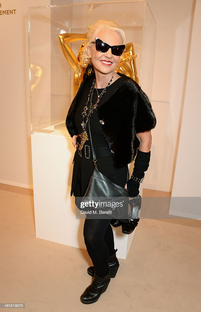 Amanda Eliasch arrives at The Masterpiece Marie Curie Party supported by JaegerLeCoultre and hosted by Heather Kerzner at The Royal Hospital Chelsea...