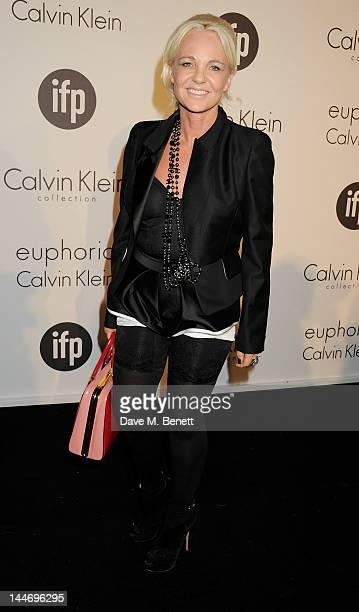 Amanda Eliasch attends as The IFP Calvin Klein Collection euphoria Calvin Klein celebrate Women In Film during the 65th Cannes Film Festival at Villa...