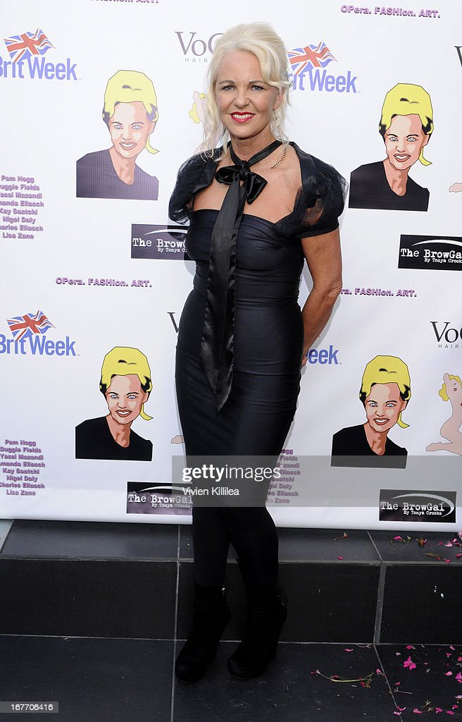 Amanda eliasch attends filmmaker and genlux magazine fashion editor