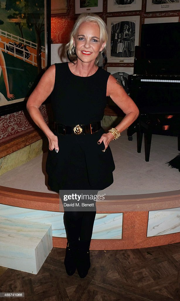 Amanda Eliasch attends the 35th Birthday of Harry's Bar on September 19 2014 in London England