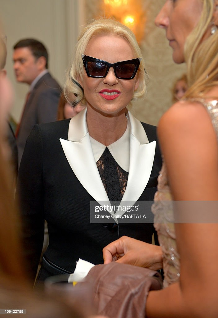 Amanda Eliasch attends the BAFTA Los Angeles 2013 Awards Season Tea Party held at the Four Seasons Hotel Los Angeles on January 12, 2013 in Los Angeles, California.