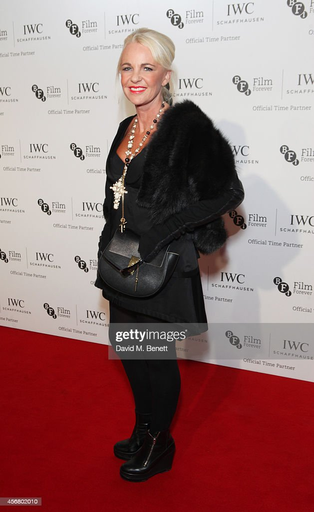 Amanda Eliasch attends the BFI London Film Festival IWC Gala Dinner in honour of the BFI at Battersea Evolution Marquee on October 7 2014 in London...
