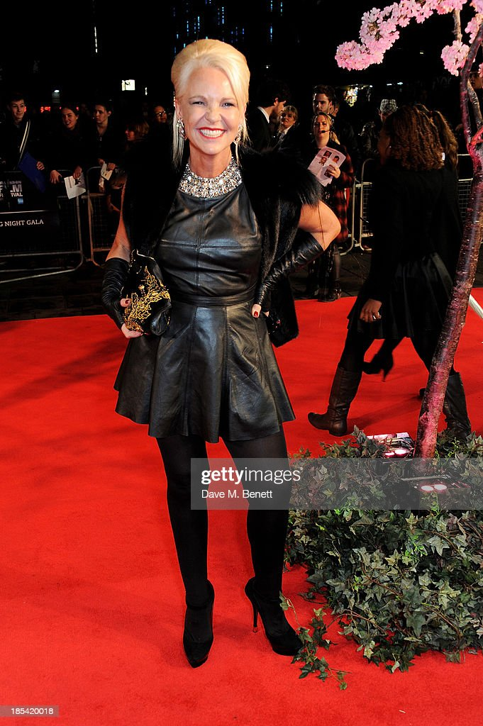 Amanda Eliasch attends the Closing Night Gala European Premiere of 'Saving Mr Banks' during the 57th BFI London Film Festival at Odeon Leicester Square on October 20, 2013 in London, England.