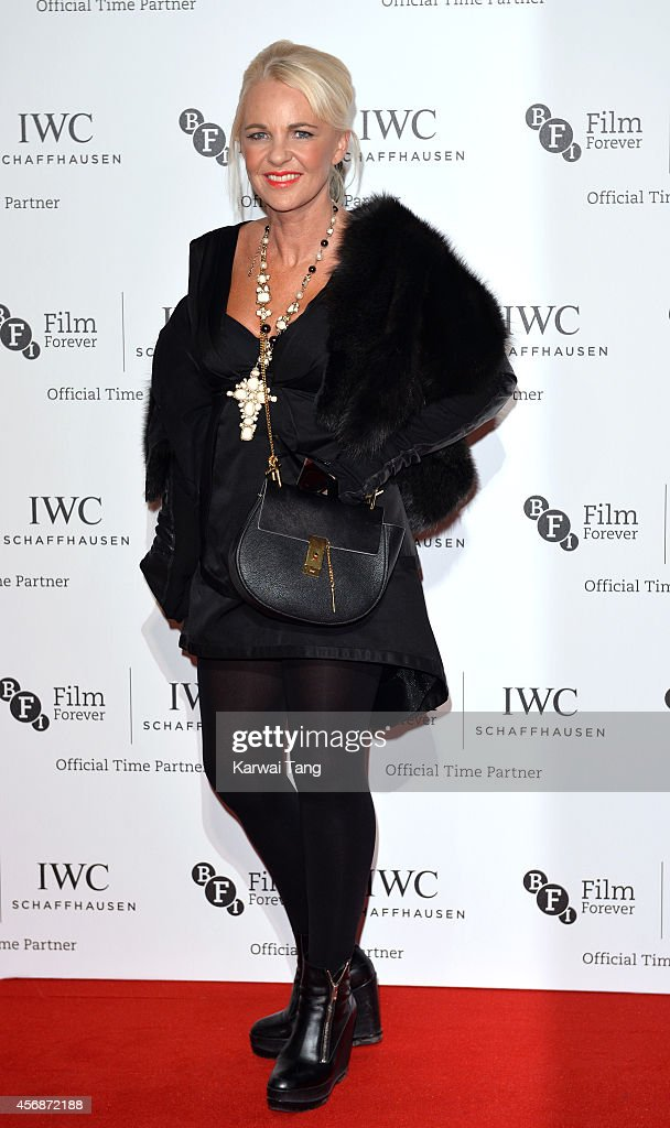 Amanda Eliasch attends the IWC Gala dinner in honour of the BFI at Battersea Evolution on October 7 2014 in London England