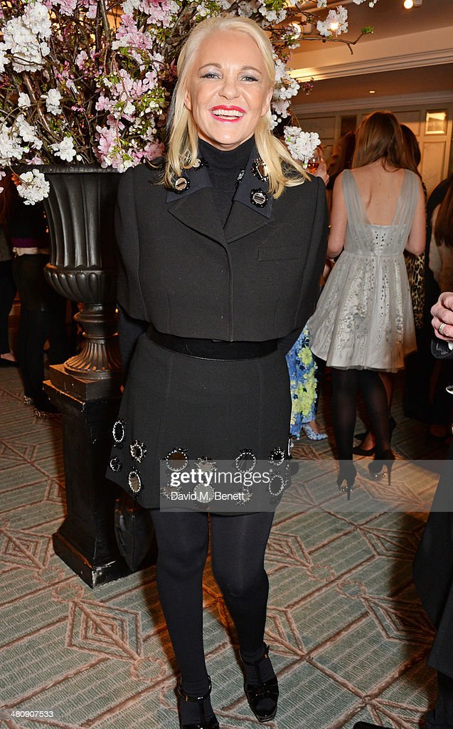 Amanda Eliasch attends the launch of 'Mrs Alice In Her Palace' hosted by Alice Naylor Leyland at Fortnum Mason on March 27 2014 in London England