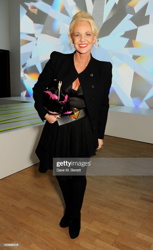 Amanda Eliasch attends the Swarovski Whitechapel Gallery Art Plus Fashion fundraising gala in support of the gallery's education fund at The...