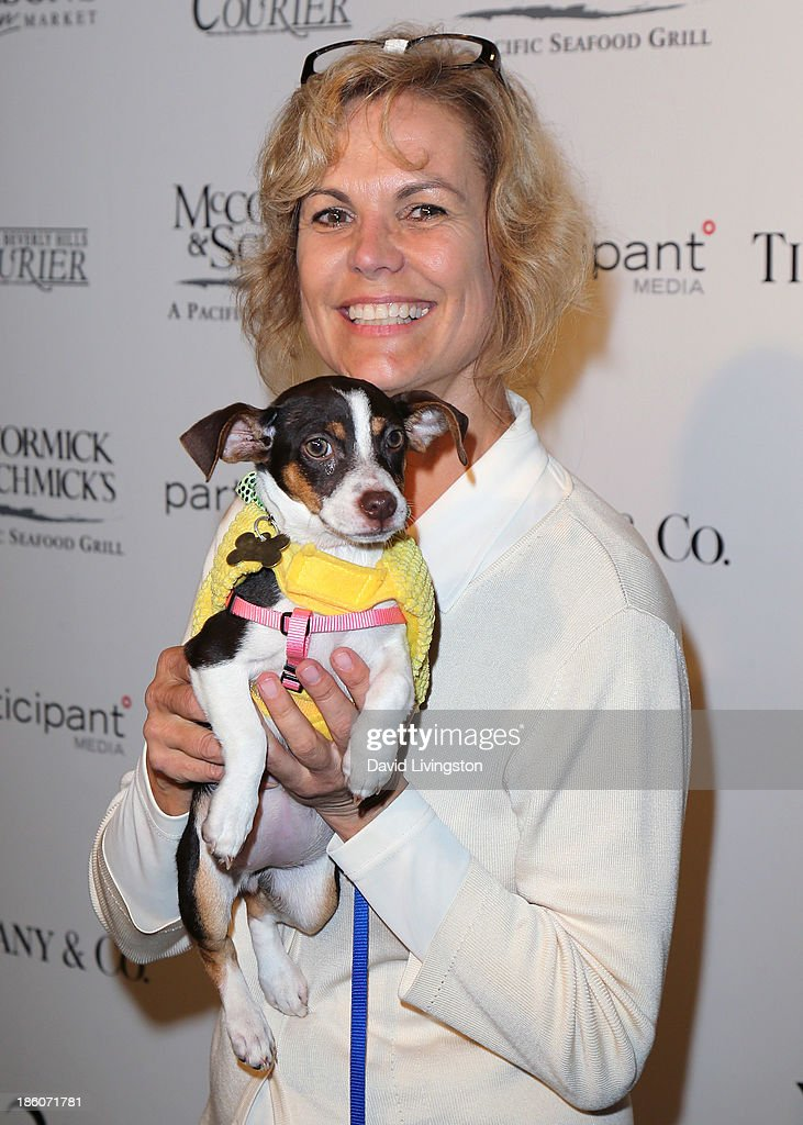 Amanda Foundation president actress Teri Austin attends the Amanda Foundation's Annual Bow Wow Beverly Hills Halloween event at Two Rodeo on October 27, 2013 in Beverly Hills, California.