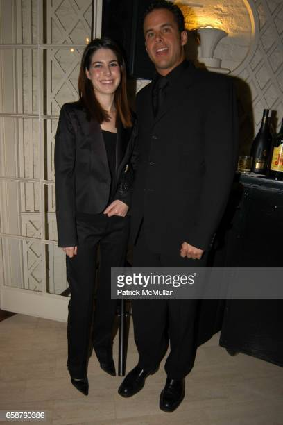 Amanda Goldberg and Eduardo de la Veja attend Kathy and Rick Hilton's party for Donald Trump and 'The Apprentice' at the Hiltons' Home on February 28...