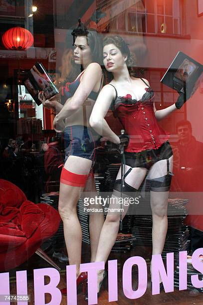 Amanda Grace and Esme at the Agent Provocateur in London United Kingdom