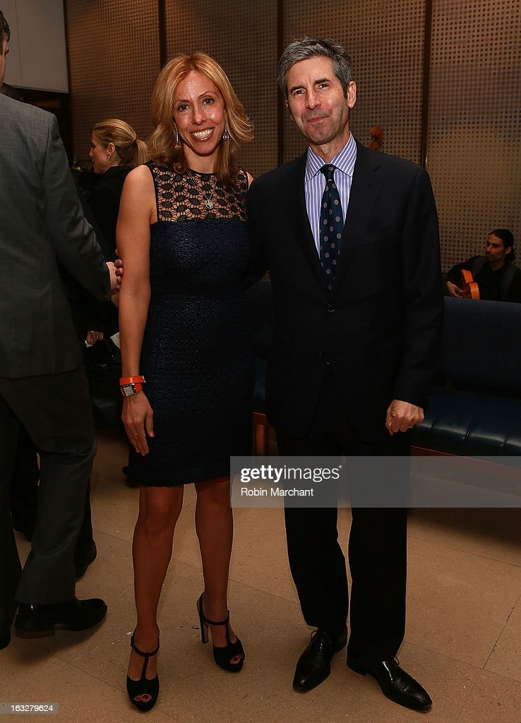 Amanda Green (L) and Andrew Hurwitz attend the 2013 Dinner For A Better New York at Riverpark Restaurant on March 6, 2013 in New York City.