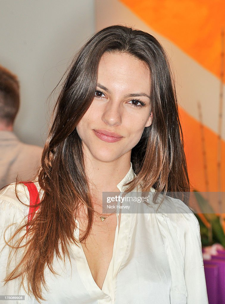 Amanda Gresser attends the launch of 'L'Agent' Campaign film by Agent Provocateur and directed by Penelope Cruz at Soho Hotel on July 31, 2013 in London, England.
