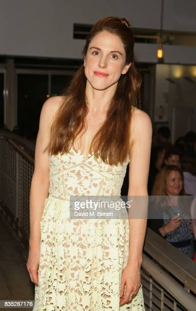 Amanda Hale attends the press night after party for 'Against' at The Almeida Theatre on August 18 2017 in London England