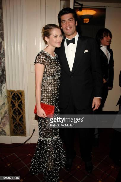 Amanda Hearst and Alejandro Santo Domingo attend The 2009 ALZHEIMER's ASSOCIATION RITA HAYWORTH GALA Themed 'SO NEAR YET SO FAR' at Waldorf Astoria...