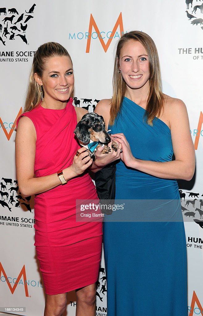 Amanda Hearst and Megan Bliss attends