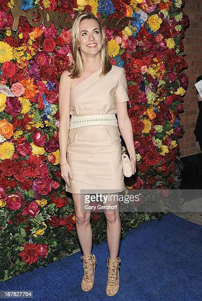Amanda Hearst attends Ferragamo Celebrates The Launch Of L'Icona Highlighting The 35th Anniversary Of Vara at 530 West 27th Street on April 30 2013...