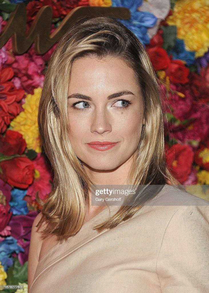 Amanda Hearst attends Ferragamo Celebrates The Launch Of L'Icona Highlighting The 35th Anniversary Of Vara at 530 West 27th Street on April 30, 2013 in New York City.