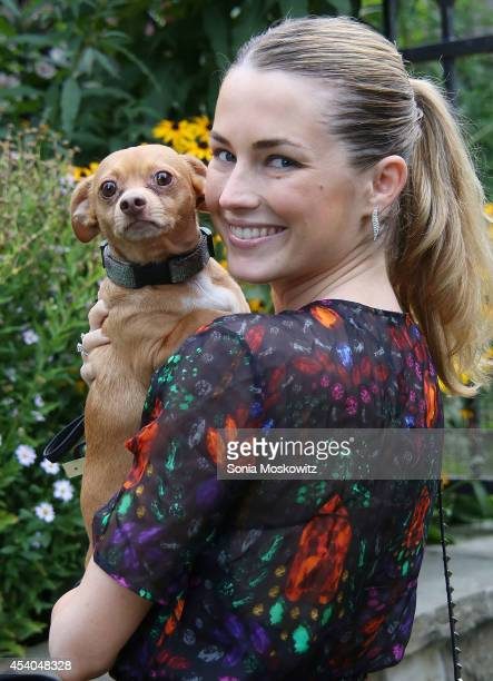 Amanda Hearst attends the 3rd annual Pet Hero Awards at Hobby Hill Estate on August 23 2014 in Water Mill New York