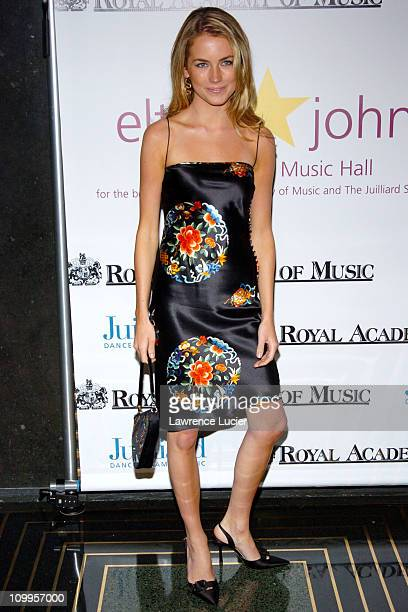 Amanda Hearst during Benefit Dinner For The Juilliard School and The Royal Academy of Music Arrivals at The Rainbow Room in New York City NY United...