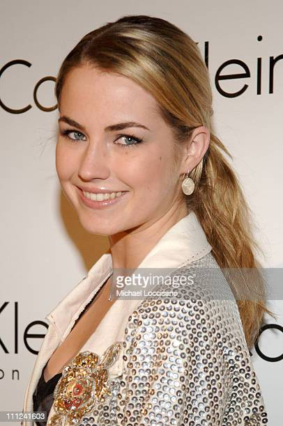 Amanda Hearst during Calvin Klein Inc and Bryan Adams Host the Launch of His New Photography Book 'American Women' at The Calvin Klein Collection...