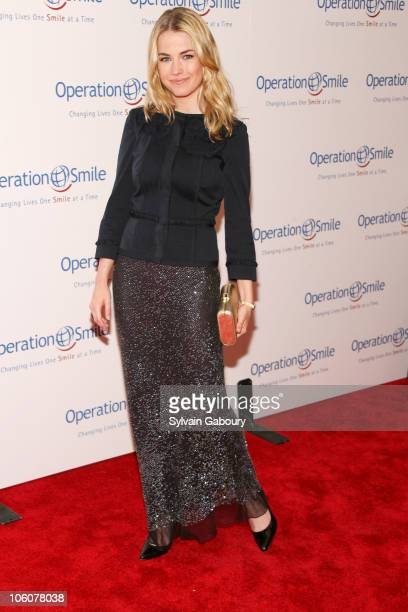 Amanda Hearst during Operation Smile's The Smile Collection at Skylight Studios in New York NY United States