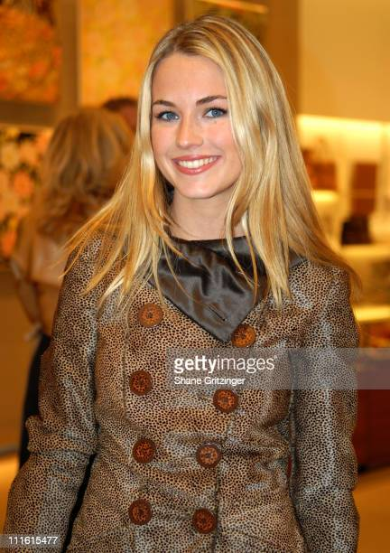 Amanda Hearst during Salvatore Ferragamo's Contemporary Art Show ''WATER' Hosted By Ivanka Trump and Amanda Hearst February 7 2007 at Salvatore...