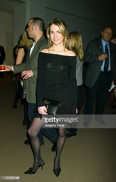 Amanda Hearst during Sean Connery Hosts 'Dressed To Kilt' to Benefit the Friends of Scotland Arrivals and Show at Sotheby's in New York City New York...