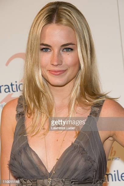 Amanda Hearst during The Operation Smile 25th Anniversary Smile Collection Couture Event Arrivals at 7 World Trade Center in New York City New York...