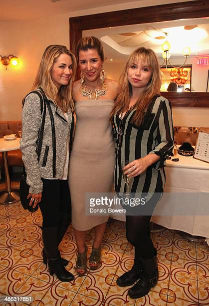 Amanda Hearst Fernanda Capobianco and Amanda Fuller attend Fernanda Capobianco and Amanda Hearst's reception to unveil crueltyfree accessory line The...