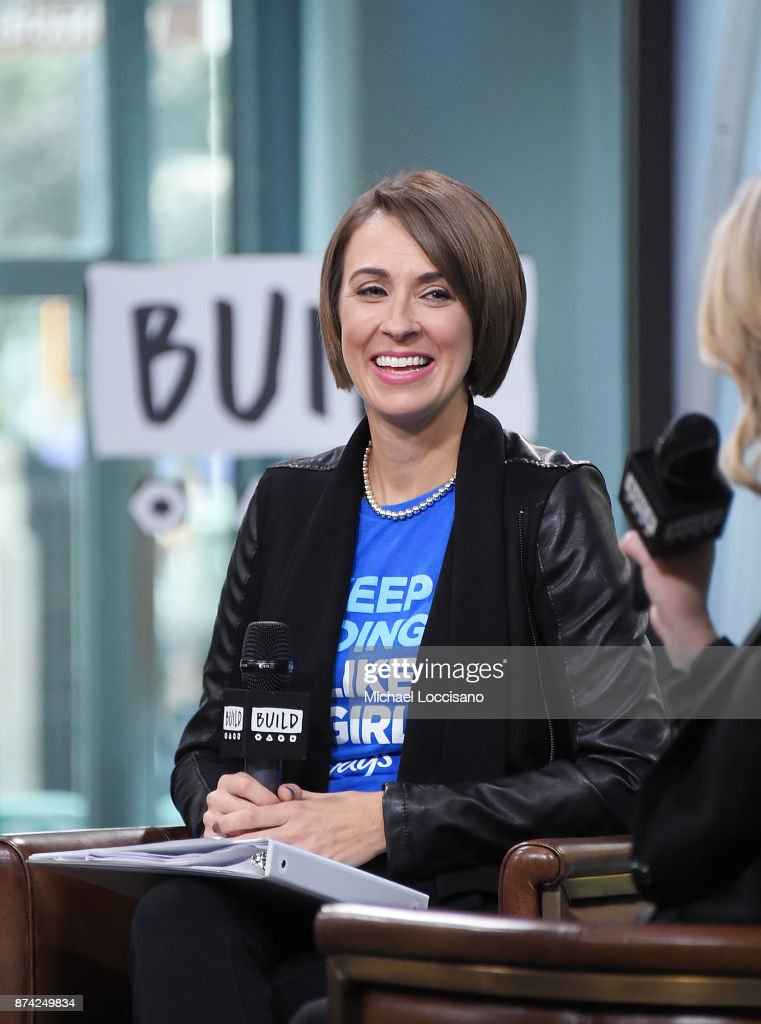 Amanda Hill visits Build Studio to discuss the Fueled By Failure Summit with SmartGirls on November 14, 2017 in New York City.