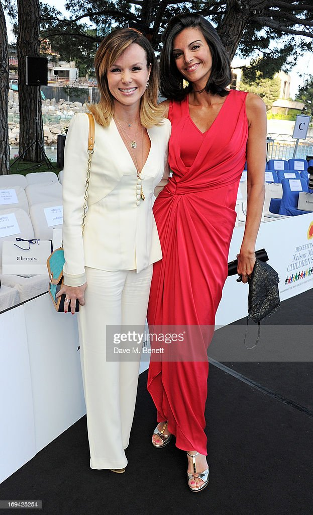 <a gi-track='captionPersonalityLinkClicked' href=/galleries/search?phrase=Amanda+Holden&family=editorial&specificpeople=202922 ng-click='$event.stopPropagation()'>Amanda Holden</a> (L) and Karen Minier attend Amber Lounge Fashion Monaco 2013 at Le Meridien Beach Plaza Hotel on May 24, 2013 in Monaco, Monaco.
