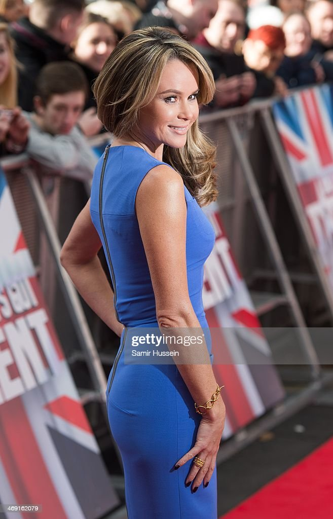 <a gi-track='captionPersonalityLinkClicked' href=/galleries/search?phrase=Amanda+Holden&family=editorial&specificpeople=202922 ng-click='$event.stopPropagation()'>Amanda Holden</a> arrives for the Britain's Got Talent London auditions at the Hammersmith Apollo on February 13, 2014 in London, England.