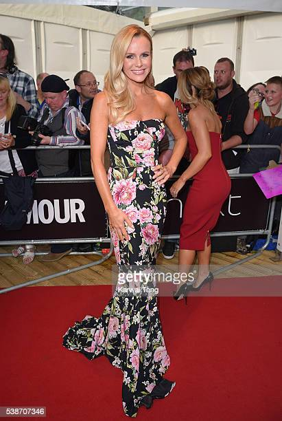 Amanda Holden arrives for the Glamour Women Of The Year Awards in Berkeley Square Gardens on June 7 2016 in London United Kingdom