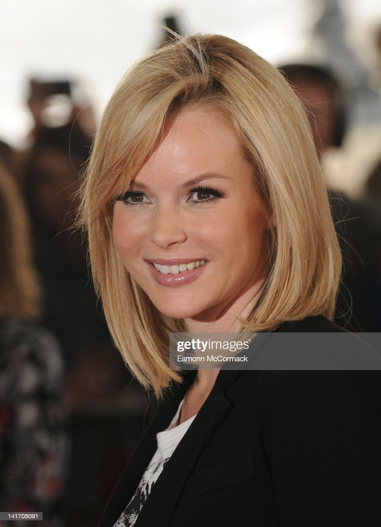 Amanda Holden arrives for the recording of Britain's Got Talent at BFI Southbank on March 22, 2012 in London, England.