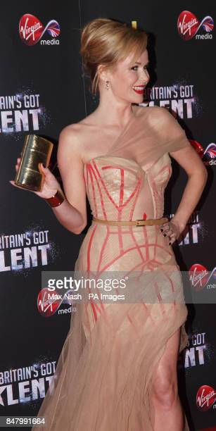 Amanda Holden arriving at the Britains Got Talent prefinal party to celebrate Virgin Medias sponsorship of the programme at the Banqueting House...