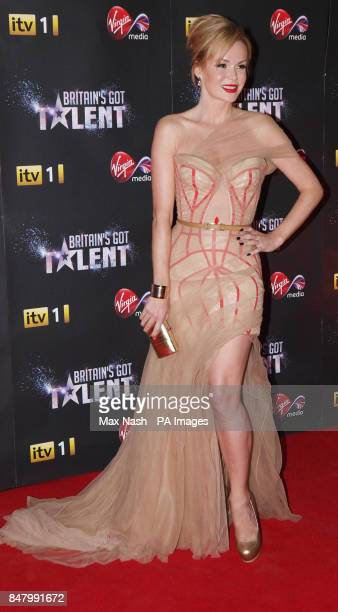 Amanda Holden arriving at the Britain's Got Talent prefinal party to celebrate Virgin Media's sponsorship of the programme at the Banqueting House...