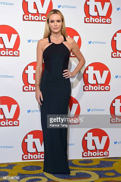 Amanda Holden attend the TV Choice Awards 2015 at Hilton Park Lane on September 7 2015 in London England