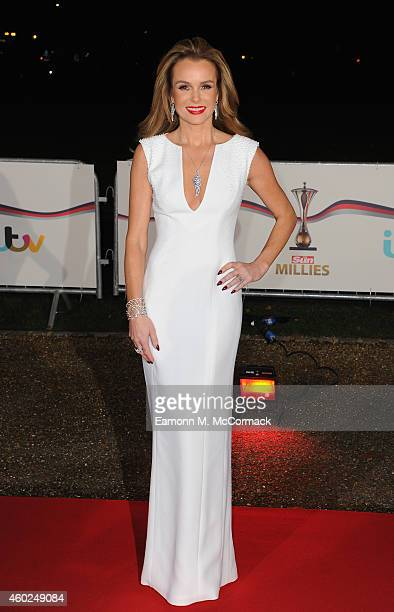 Amanda Holden attends A Night Of Heroes The Sun Military Awards at National Maritime Museum on December 10 2014 in London England