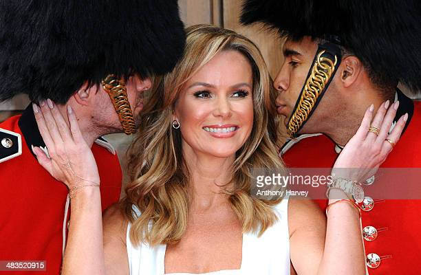 Amanda Holden attends a photocall for 'Britain's Got Talent' at St Luke's Church on April 9 2014 in London England