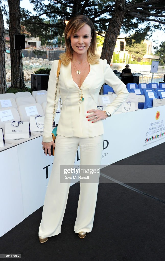 Amanda Holden attends Amber Lounge Fashion Monaco 2013 at Le Meridien Beach Plaza Hotel on May 24, 2013 in Monaco, Monaco.