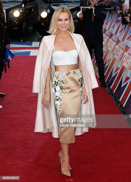 Amanda Holden attends Britain's Got Talent London Auditions Photocall on January 29 2017 in London United Kingdom