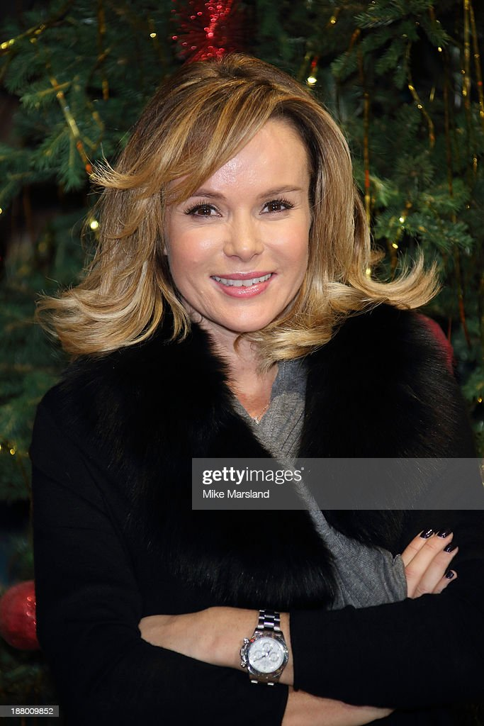 <a gi-track='captionPersonalityLinkClicked' href=/galleries/search?phrase=Amanda+Holden&family=editorial&specificpeople=202922 ng-click='$event.stopPropagation()'>Amanda Holden</a> attends Hogwarts In The Snow VIP Preview at Warner Bros Studios on November 14, 2013 in London, England.